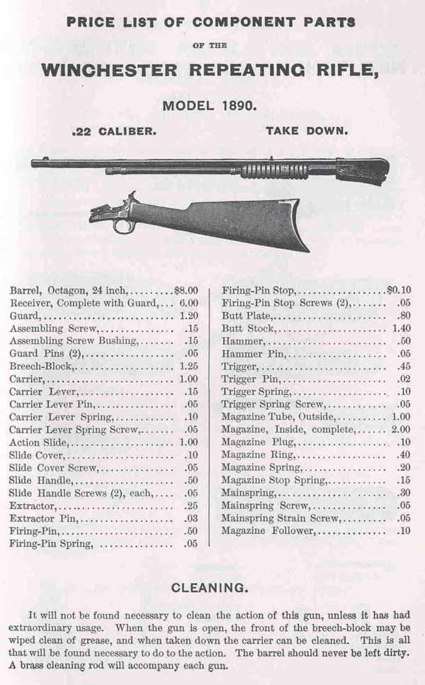 United States Cartridge Co 1881 Ammunition Catalog